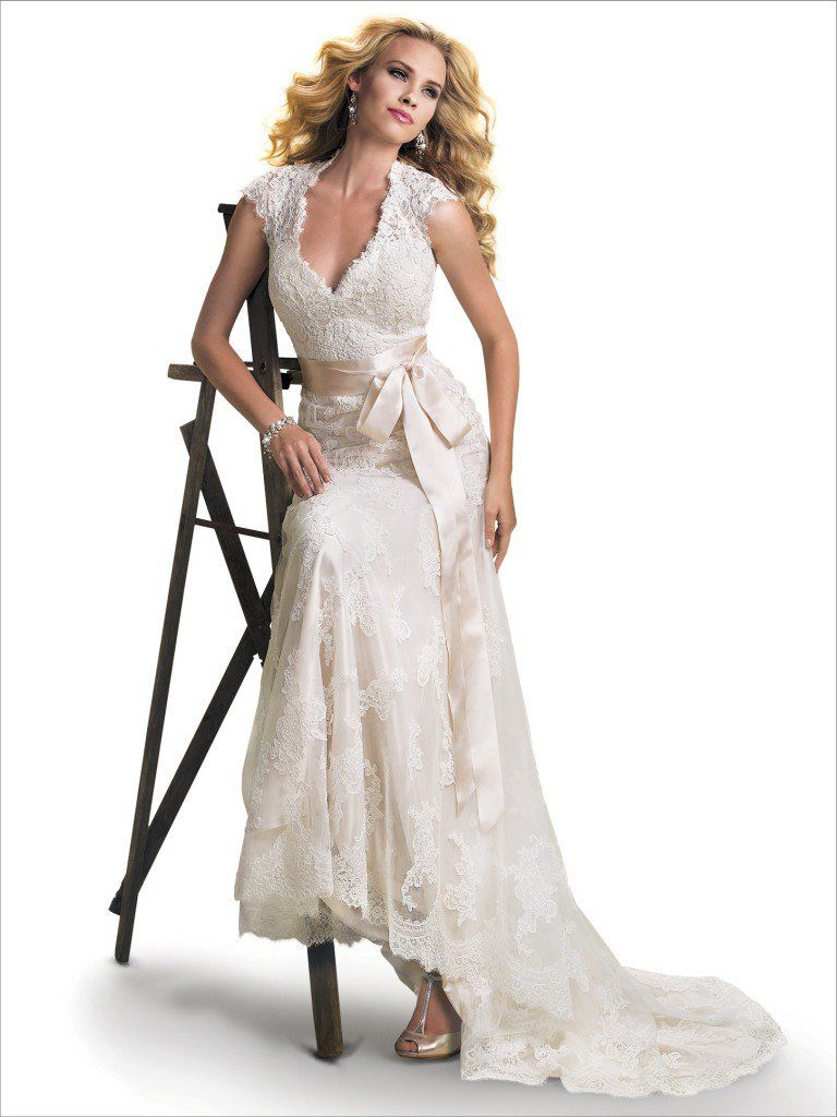 Maggie Sottero Wedding Dress Bronwyn 12623 Front