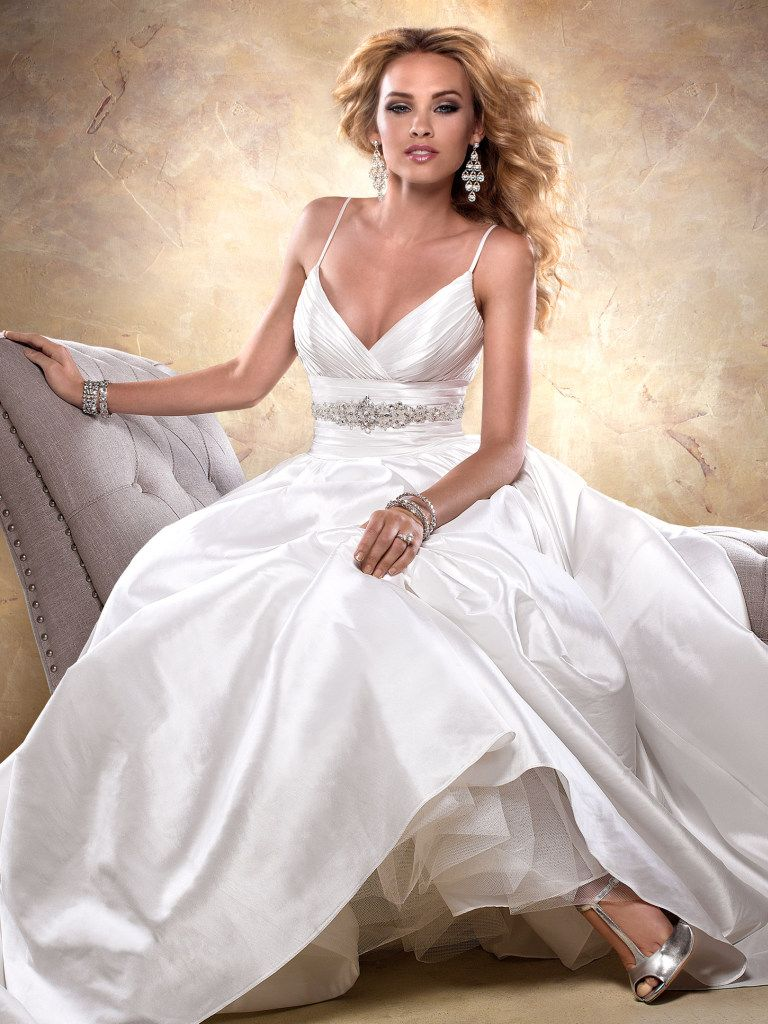Maggie Sottero Wedding Dress Stephanie 24933 Front