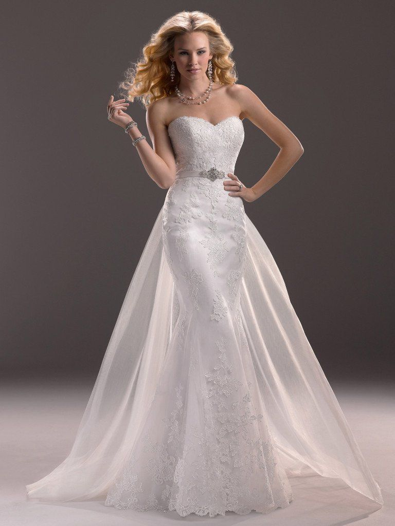 Maggie Sottero Wedding Dress Lucy 3ms760 Front