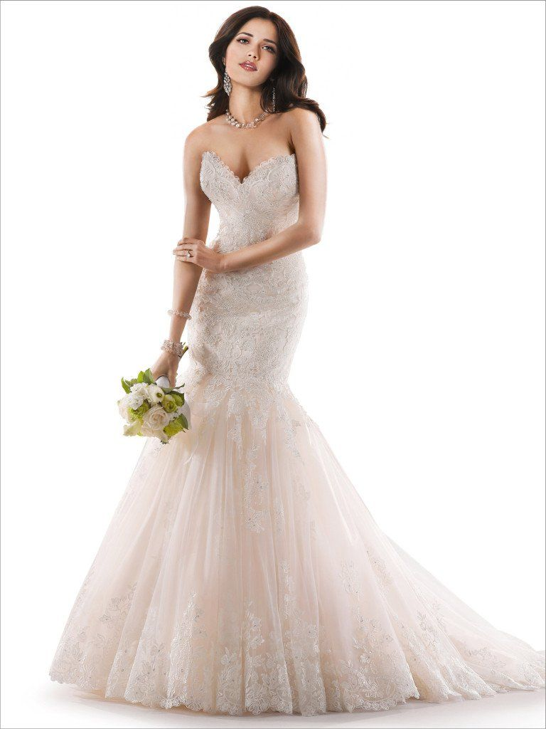 Maggie Sottero Wedding Dress Marianne 3ms763 Front