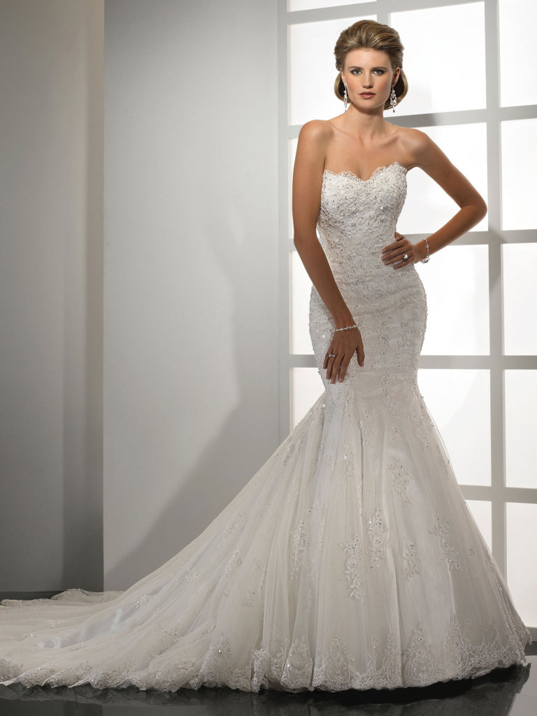 Maggie Sottero Mermaid Wedding Dress