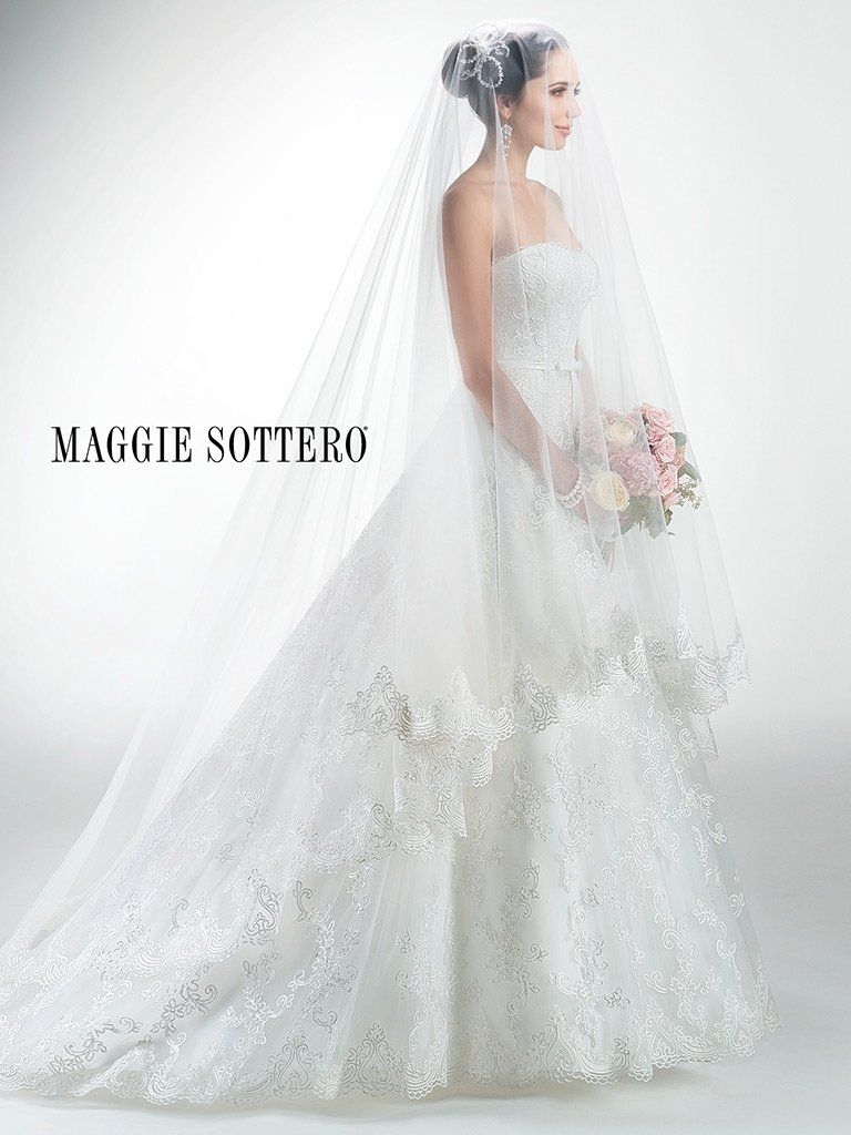 Maggie Sottero Wedding Dress Prudence 4mz038 Front