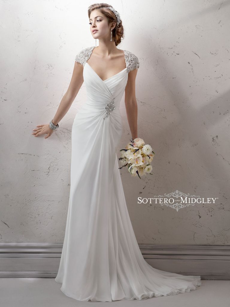 Sottero And Midgley Wedding Dress Rosemary 4sw044 Front