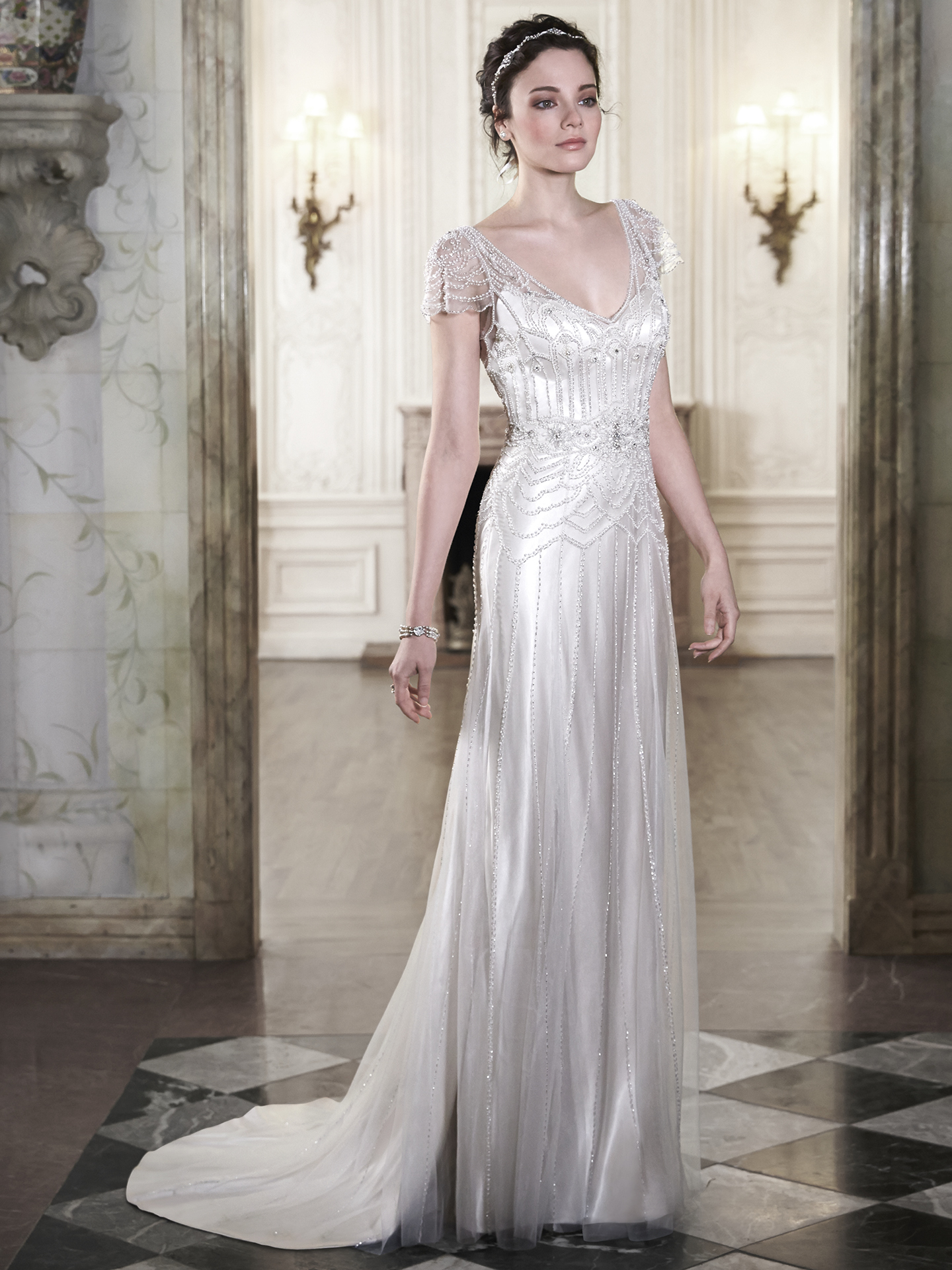 Ettia By Maggie Sottero Great Gatsby Inspired Wedding Dresses
