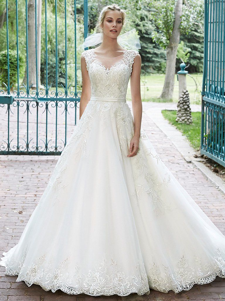 Traditional Lace Wedding Dresses - Bellissima by Maggie Sottero