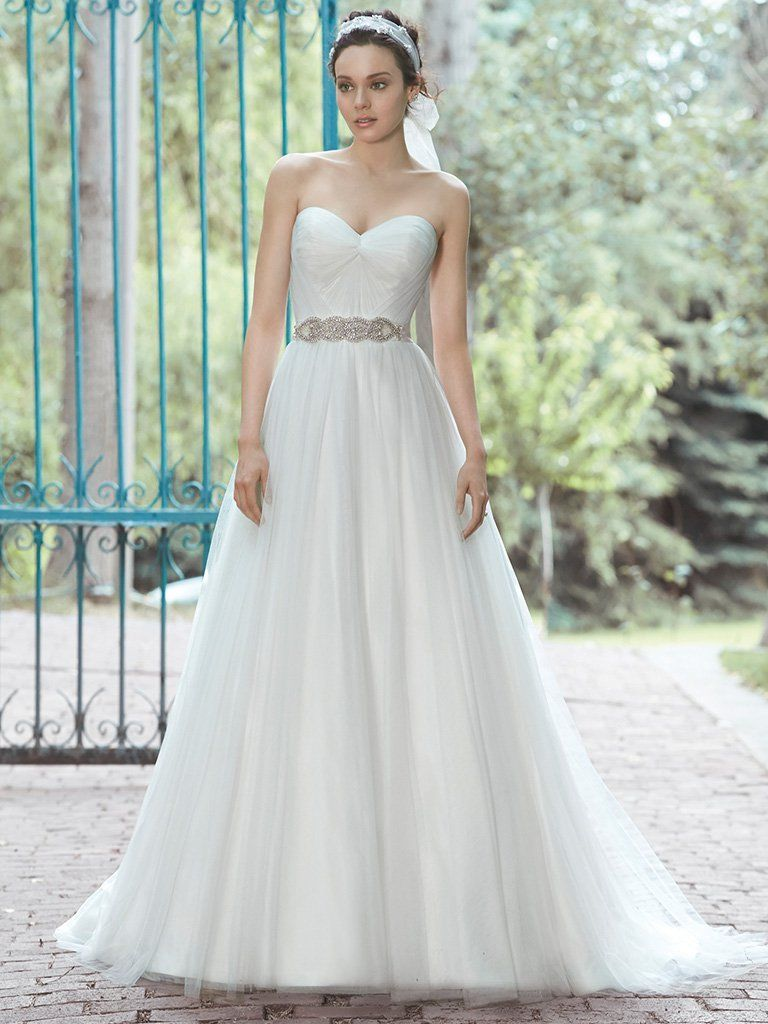 Maggie Sottero Wedding Dress Florence 5ms029 Front