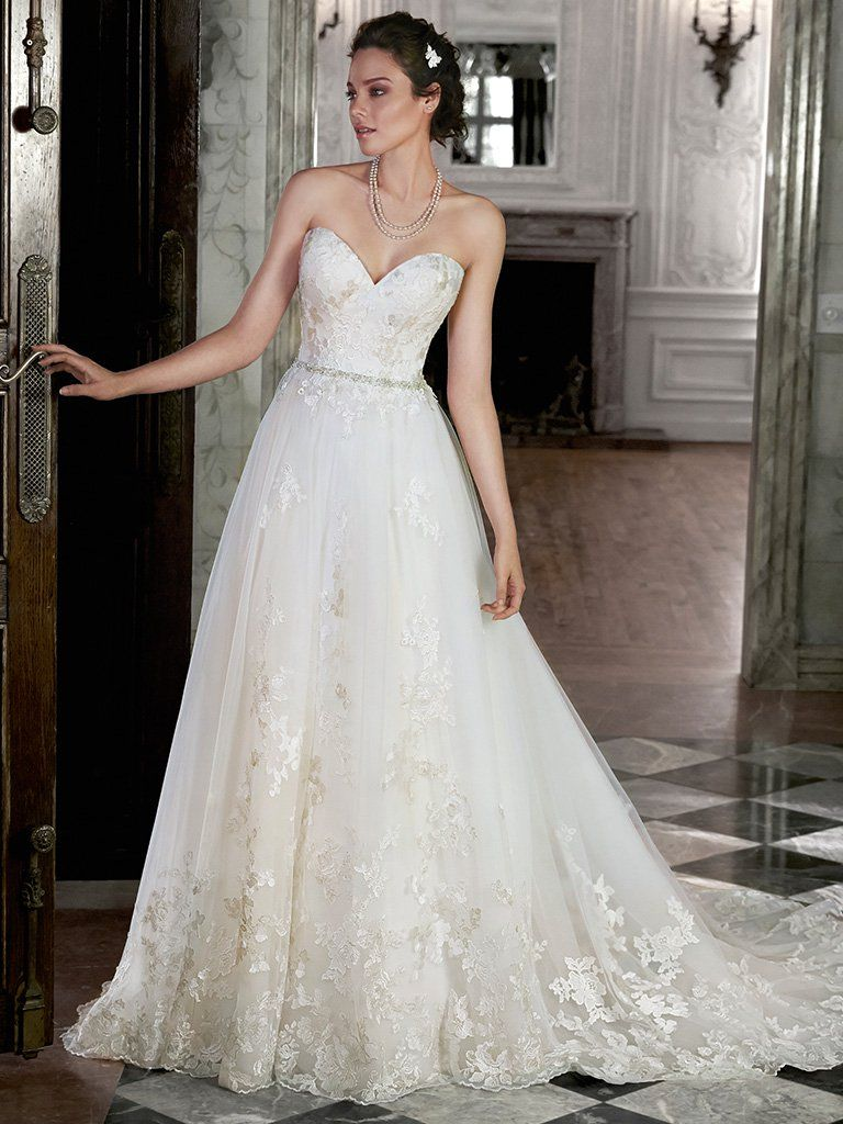 Maggie Sottero Wedding Dress Lauralee 5ms164 Front