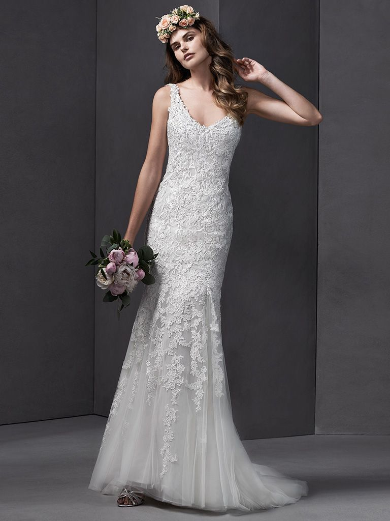 Brooklyn wedding dress by Sottero and Midgley