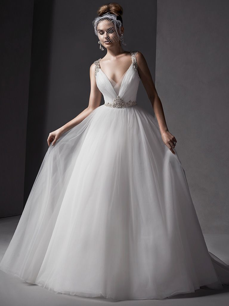 Sottero And Midgley Wedding Dress Mariam 5SS123 Front