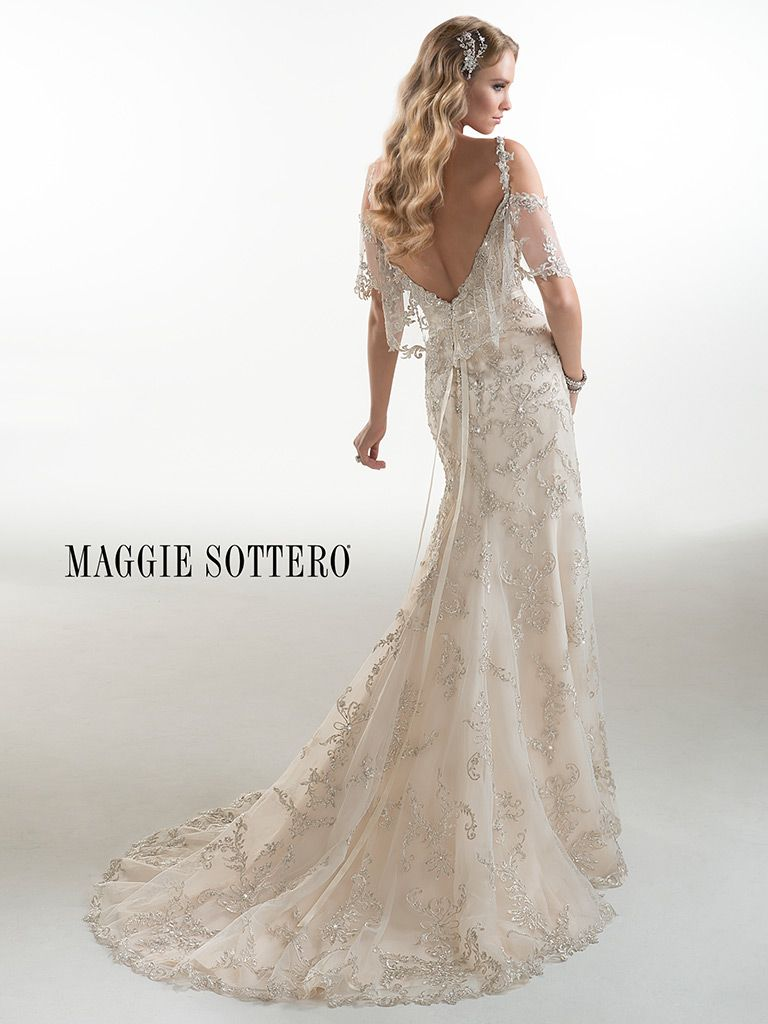 85dea090d79 Maggie Sottero Wedding Dress Maurine 4MS959 back