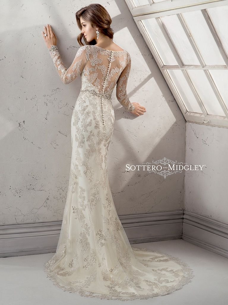 Sottero And Midgley Wedding Dress Anastasia 4sw933 Back