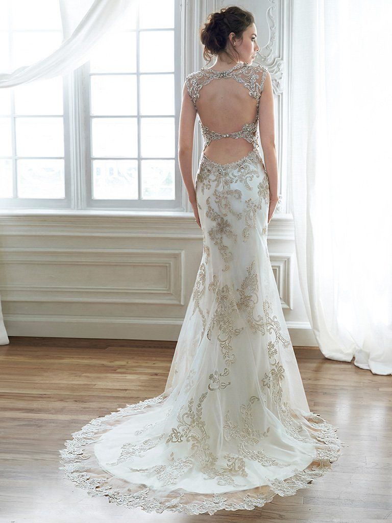 Maggie Sottero Wedding Dress Jade 5MD056 Back