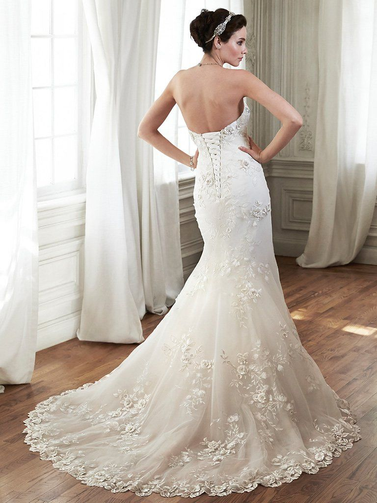 Maggie Sottero Wedding Dress Chante 5MD122 Back