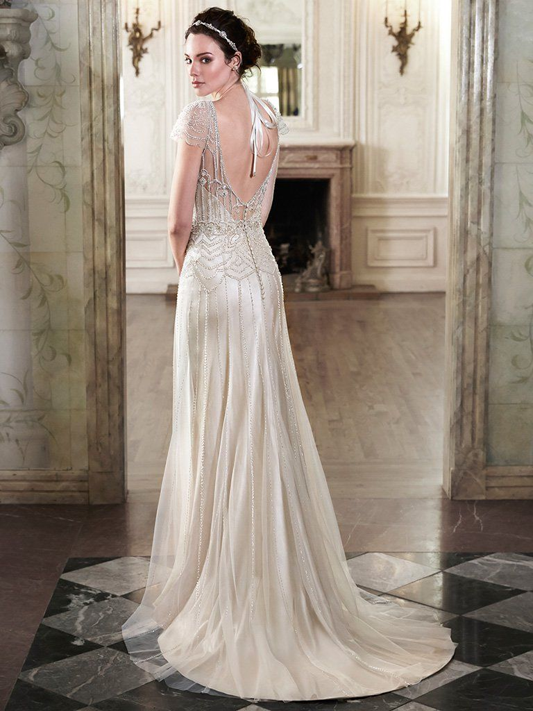 Maggie Sottero Wedding Dress Ettia 5mn084 Back