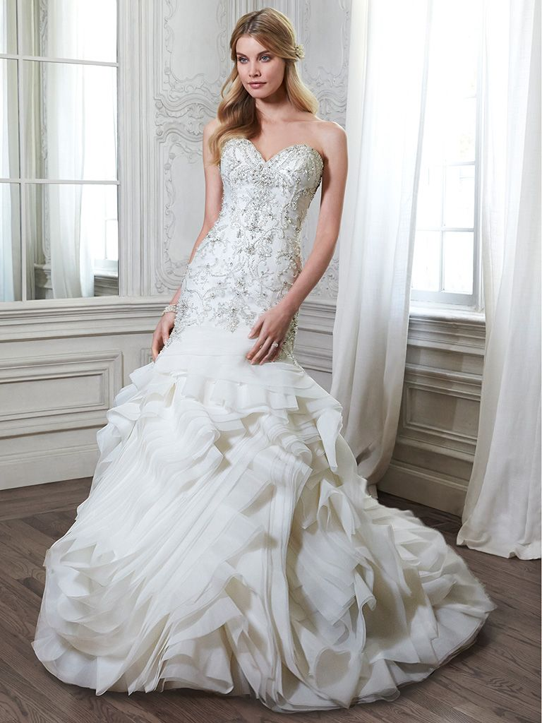Romantic mermaid wedding dress - Aurora by Maggie Sottero
