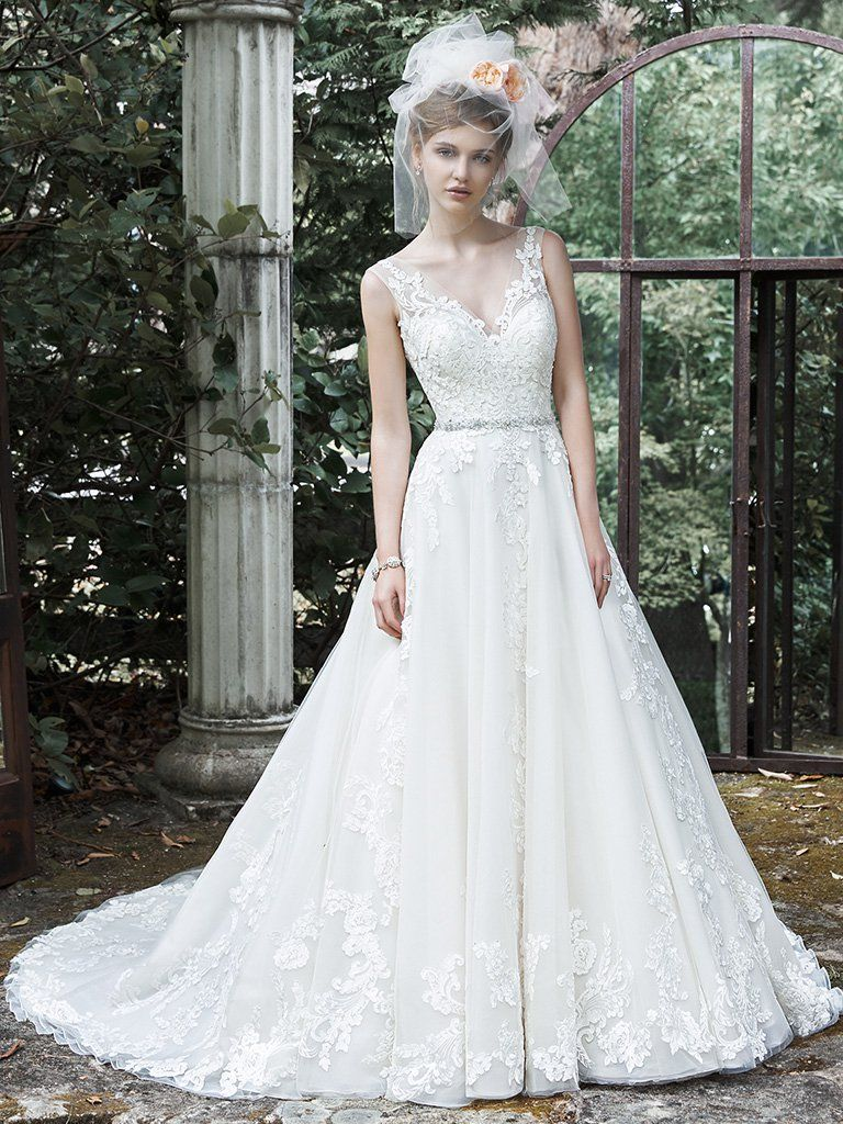 sybil wedding dress maggie sottero