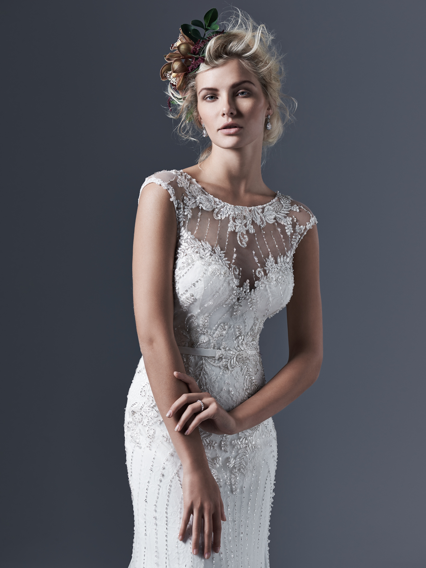 Beckett by Sottero and Midgley: Great Gatsby Inspired Wedding Dresses