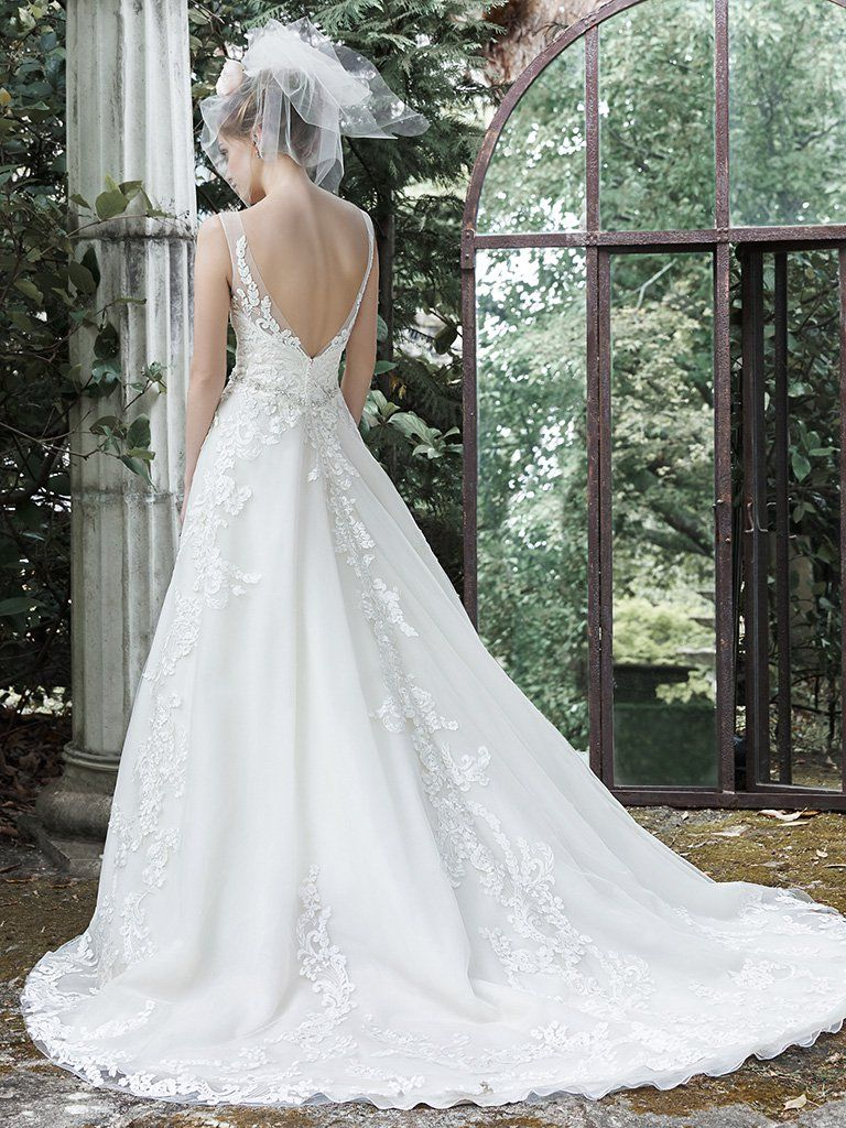 The pin page dreamy ball gown wedding dresses love maggie for Maggie sottero mckenzie wedding dress