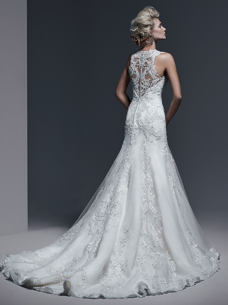Monticella wedding dress by Sottero and Midgley.