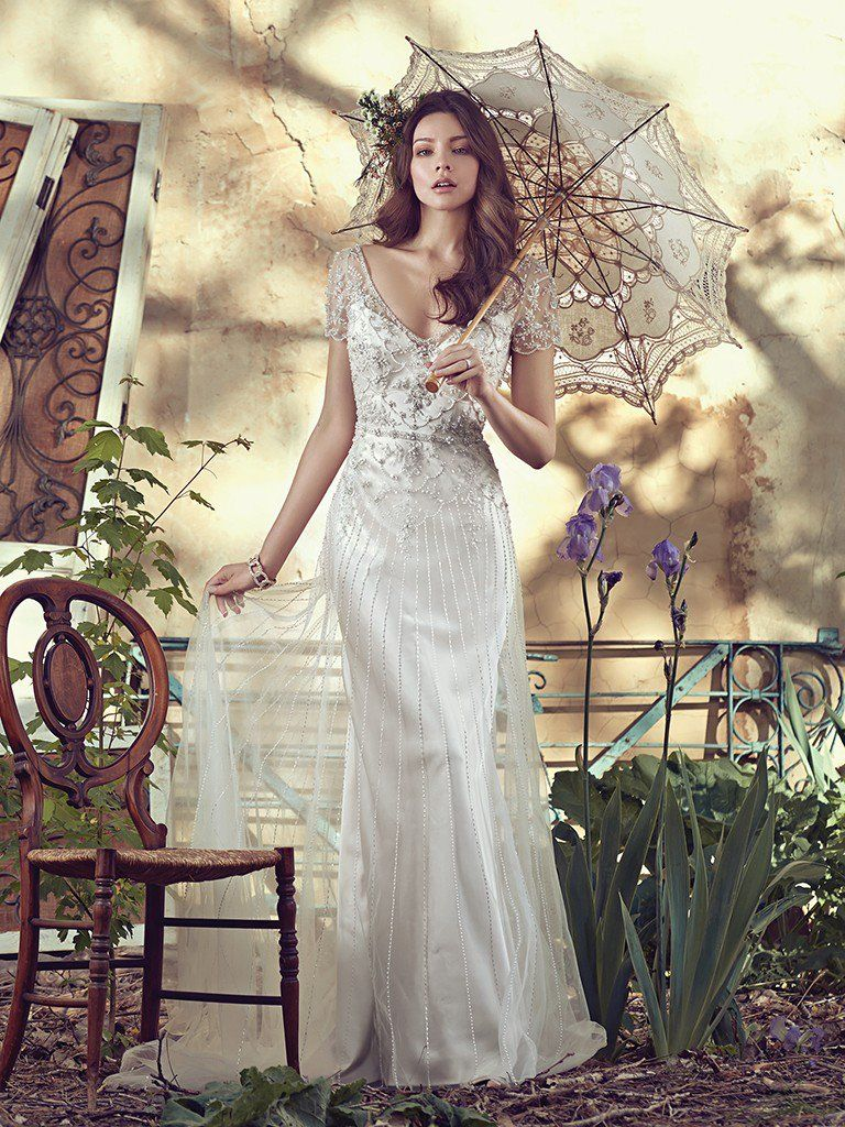 Popular Wedding Dresses On Pinterest - Amal wedding dress by Maggie Sottero.