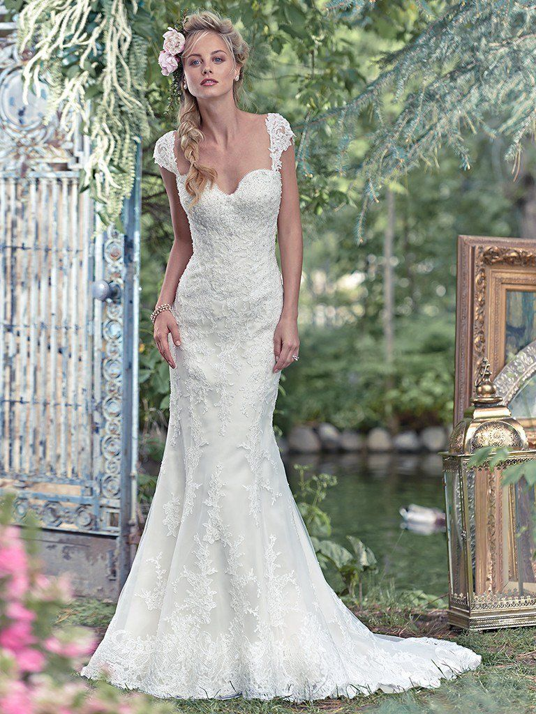 Maggie Sottero Wedding Dress Rita 6ms279 Front