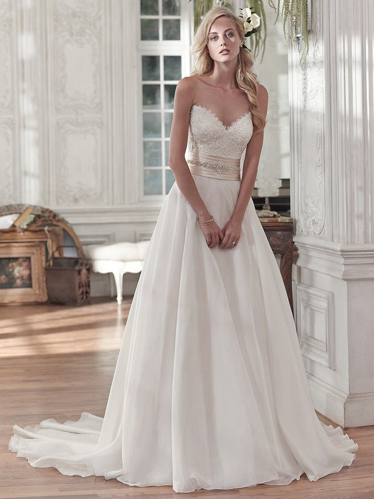 poppy wedding dress maggie sottero