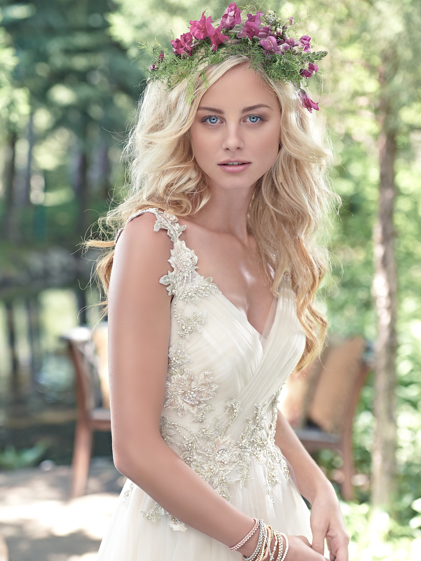 tulle-and-crystal a-line gown Shelby by Maggie Sottero