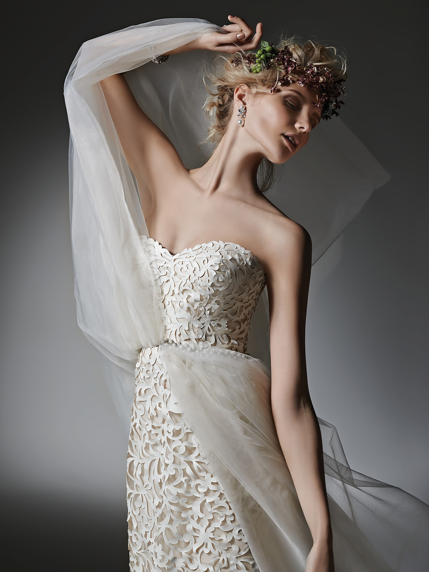chic gown for the naturalist bride - Kristen by Sottero and Midgley