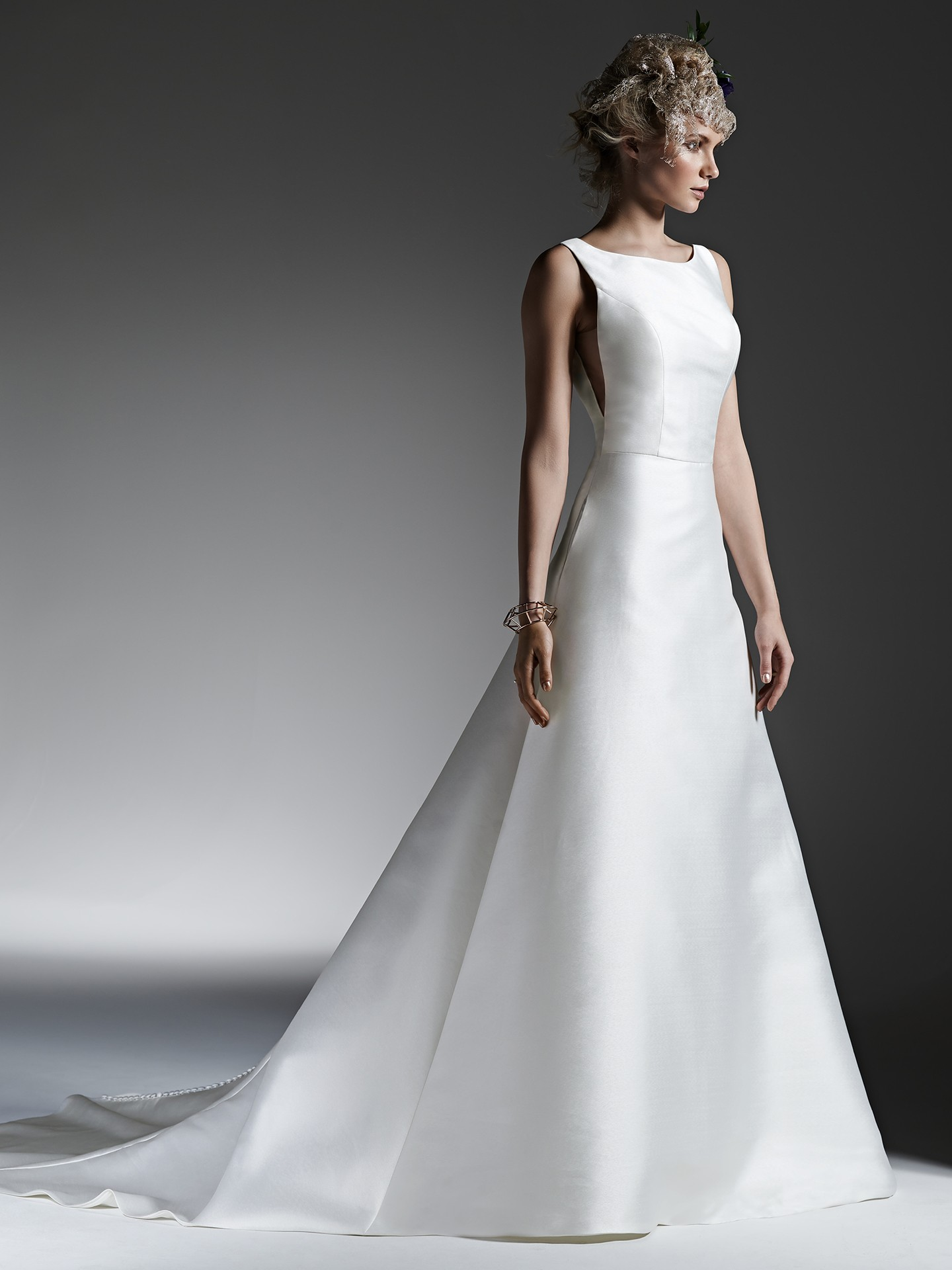 A Stunning Gown for the Minimalist Bride - McCall by Sottero and Midgley