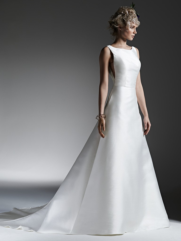 Wedding Dress Trends Through History - McCall wedding dress by Sottero and Midgley