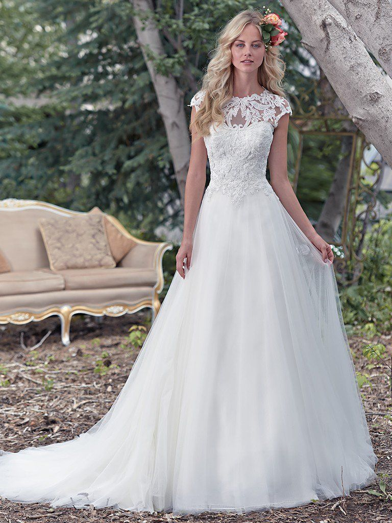 chandler wedding dress maggie sottero