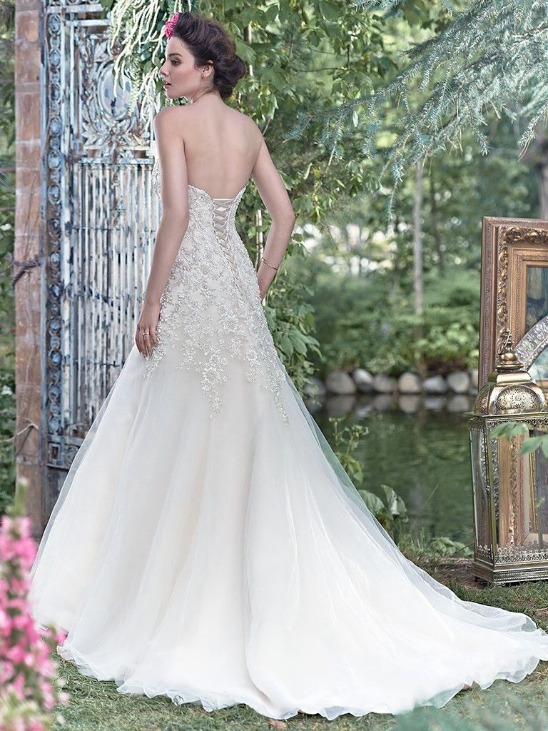Ladonna wedding dress maggie sottero maggie sottero wedding dress ladonna 6mg173 back junglespirit