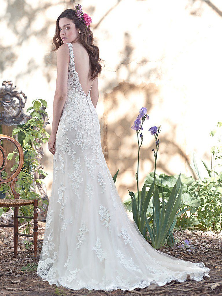 6 best wedding dresses for a rustic wedding love maggie for Maggie sottero mckenzie wedding dress