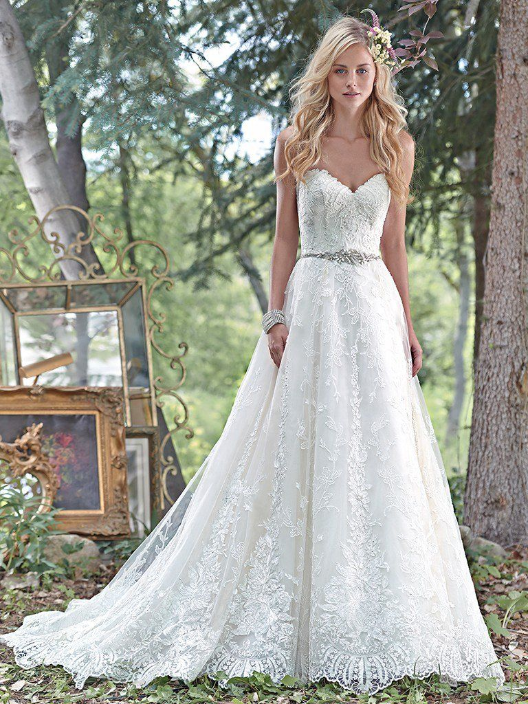 16 best wedding gowns of 2016 maggie sottero love for Best lace wedding dresses