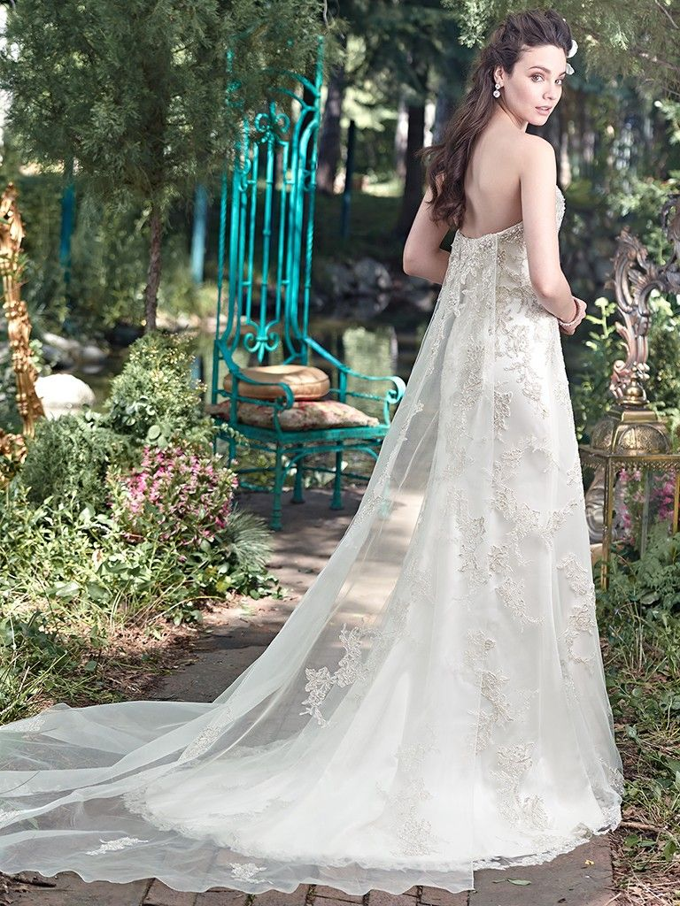 Find embellished lace wedding dresses from Maggie Sottero - Colleen by Maggie Sottero