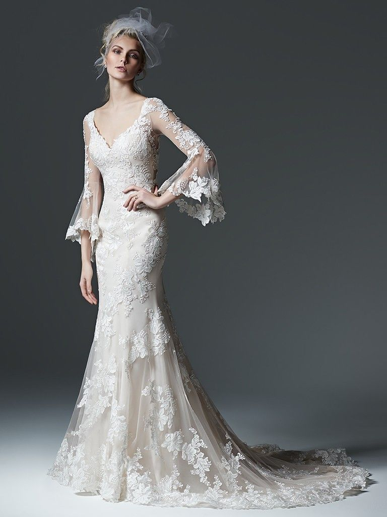 Wedding Dress Trends Through History - Gabriella wedding dress by Sottero and Midgley