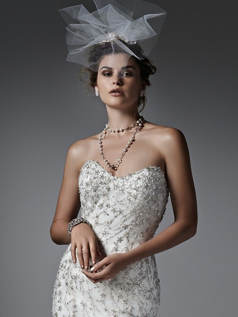 Find embellished lace wedding dresses from Maggie Sottero - Donalee by Sottero and Midgley
