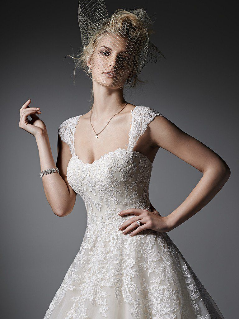 Traditional Lace Wedding Dresses - Zelinda by Sottero and Midgley