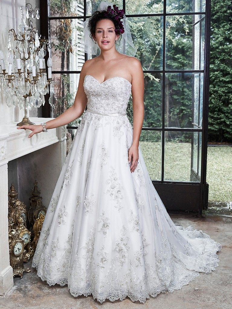 Find embellished lace wedding dresses from Maggie Sottero - Hannah by Maggie Sottero