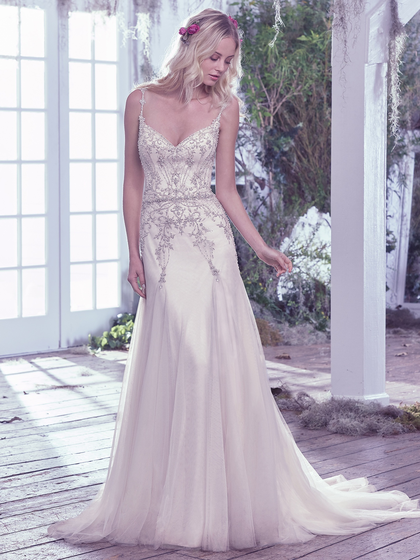 lightweight A-line Andraea by Maggie Sottero