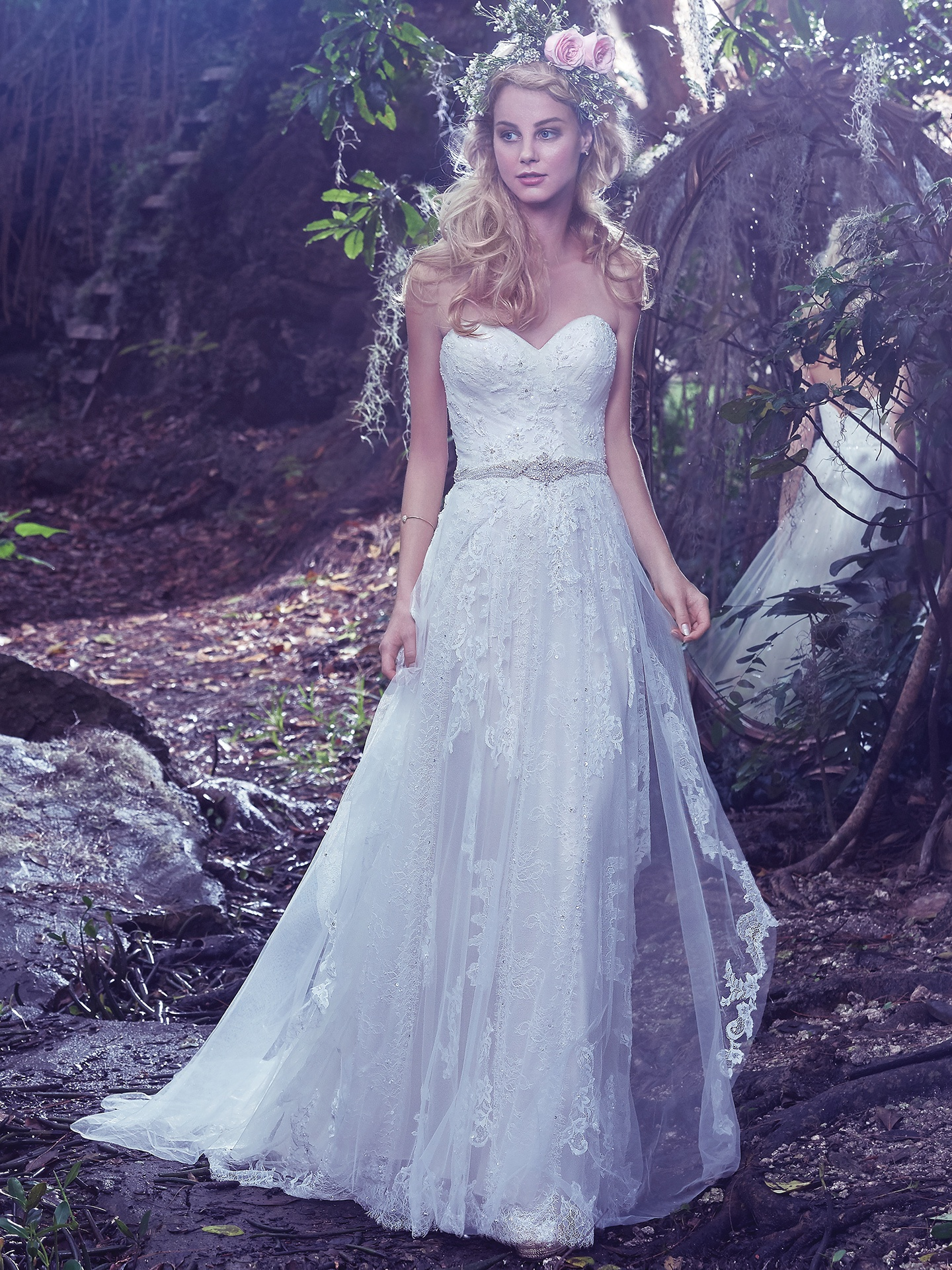 Romantic Tulle Sheath: Bailey by Maggie Sottero - Love Maggie : Love ...