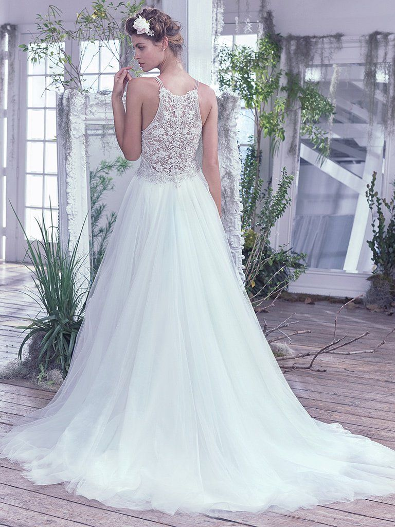 Lisette wedding dress maggie sottero maggie sottero wedding dress lisette 6mc813 back junglespirit