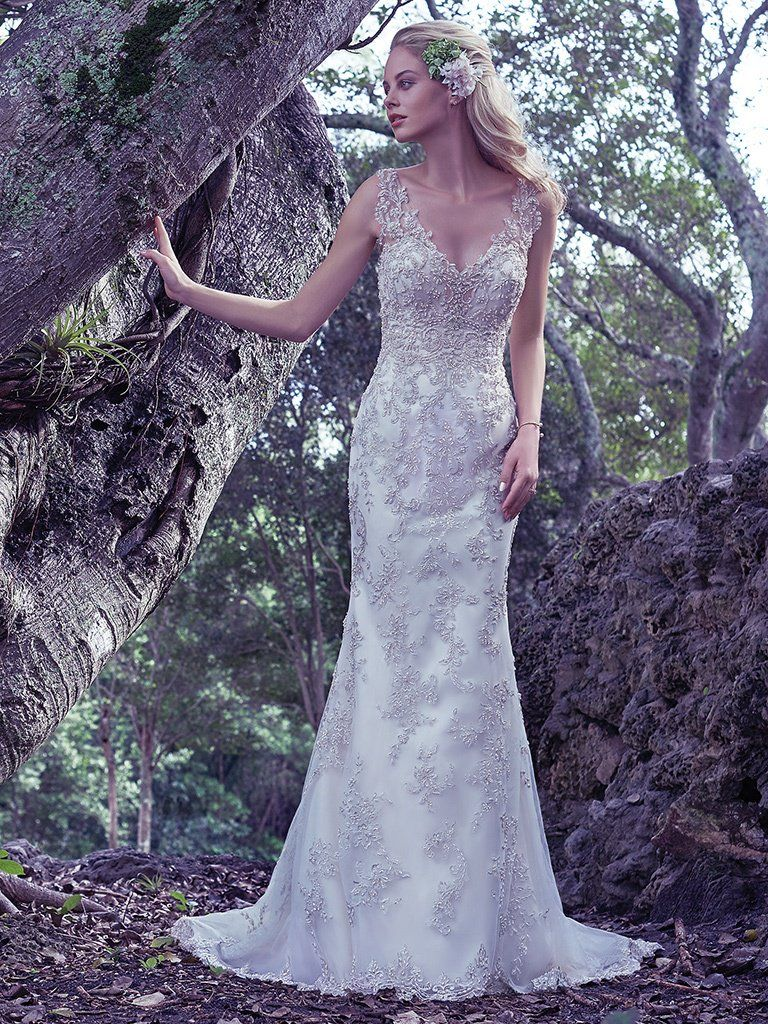 Maggie Sottero Wedding Dress Greer 6MG799 Main