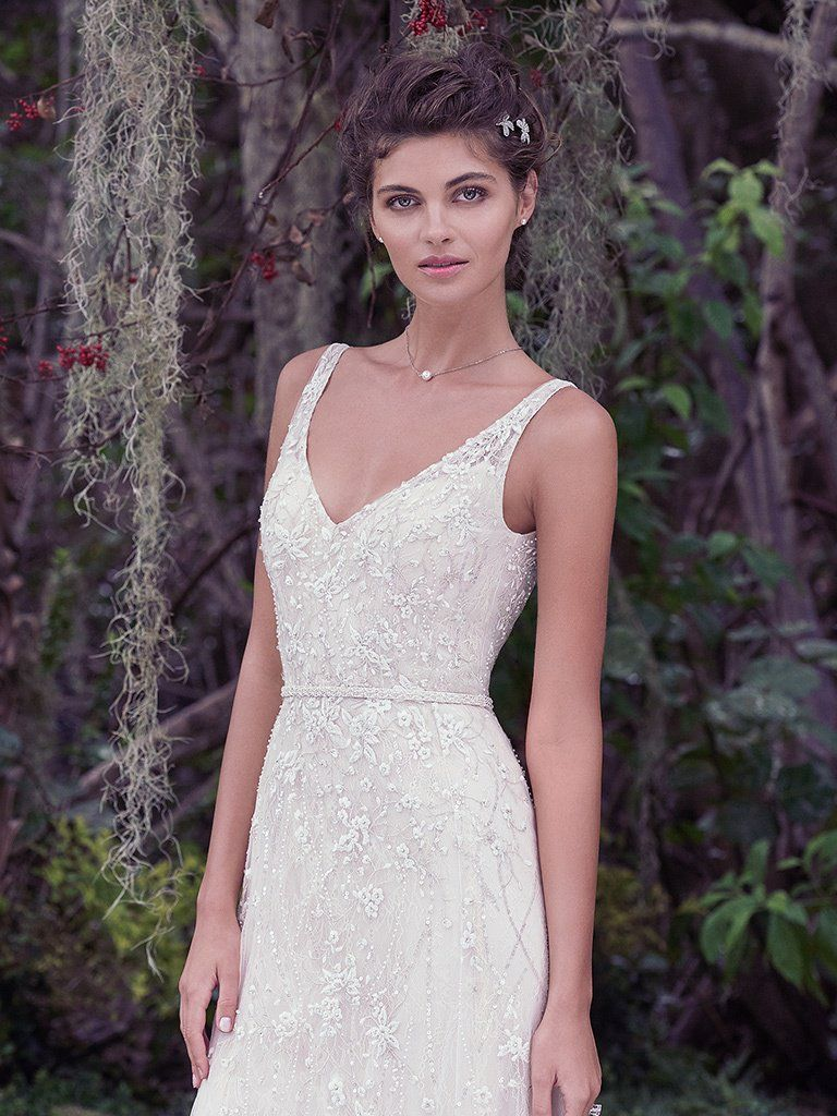 Find embellished lace wedding dresses from Maggie Sottero - Jorie by Maggie Sottero