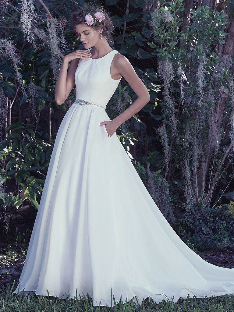 Maggie Sottero Anita wedding dress for the classic bride