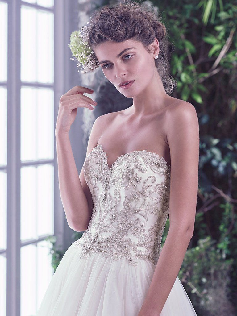 Find embellished lace wedding dresses from Maggie Sottero - Beverly by Maggie Sottero