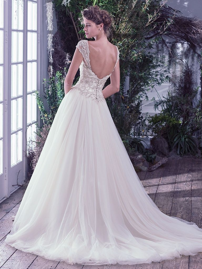Find embellished lace wedding dresses from Maggie Sottero - Beverlyby Maggie Sottero