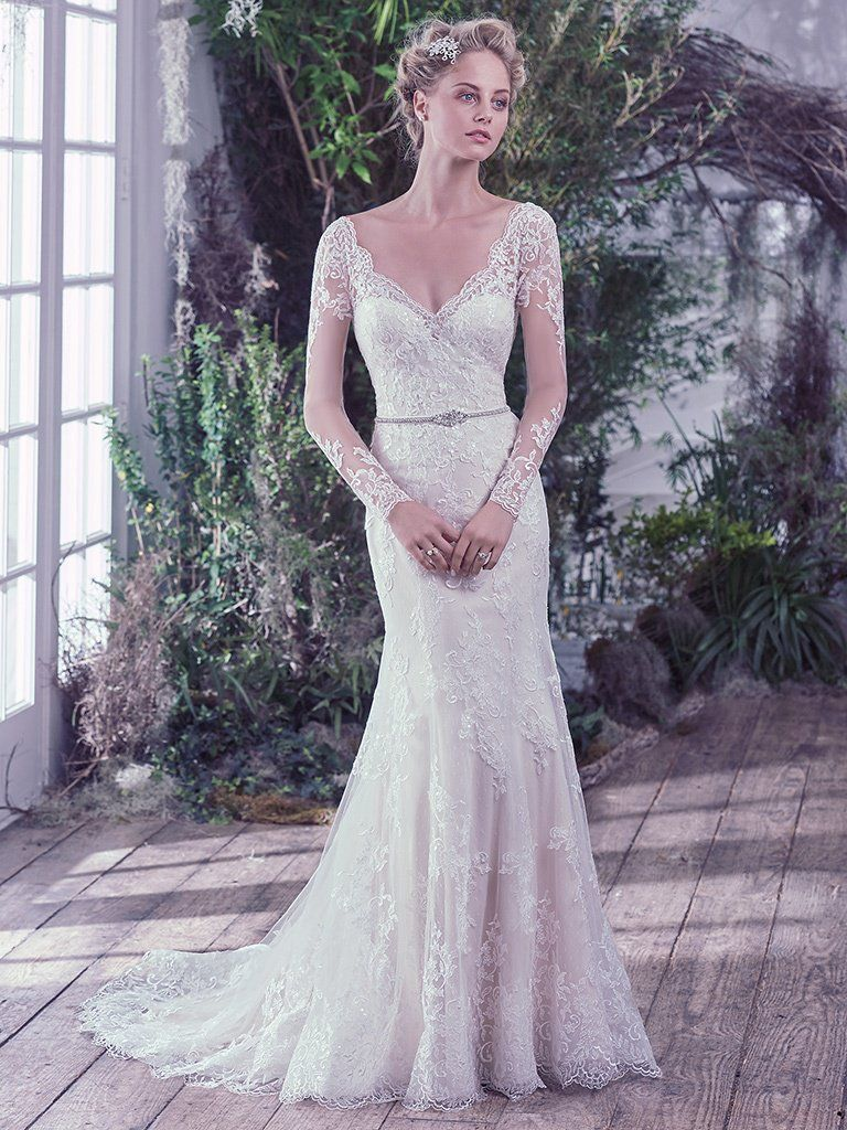 Wedding Dress Trends Through History - Roberta wedding dress by Maggie Sottero