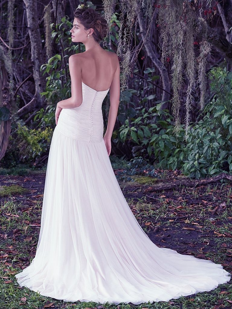 6 Best Wedding Dresses for a Rustic Wedding - Heather wedding dress by Maggie Sottero