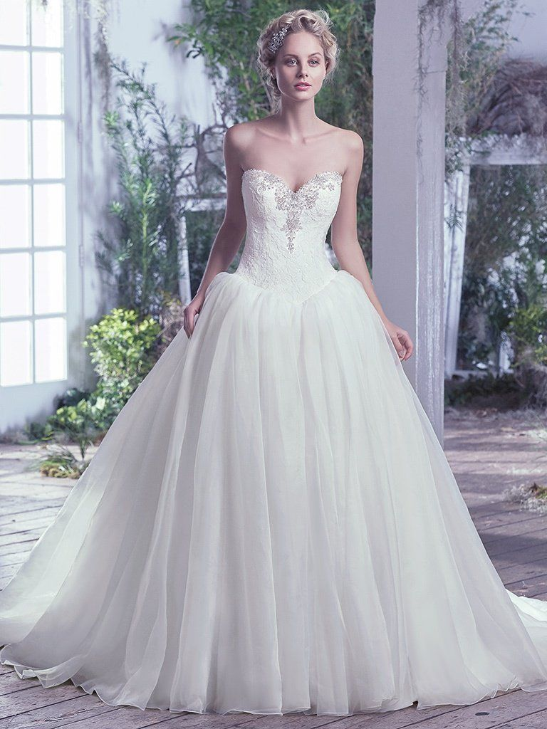 Ball gown wedding dresses by Maggie Sottero, Sottero and Midgley and Rebecca Ingram - Ginny by Maggie Sottero